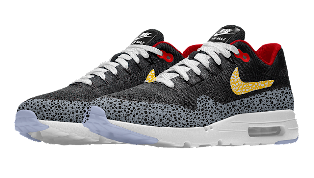 9f9c2357ee9d Safari theme can now be used in Air Max 1 Ultra Flyknit via Nike iD ...