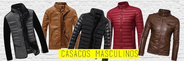 casacos masculino zaful
