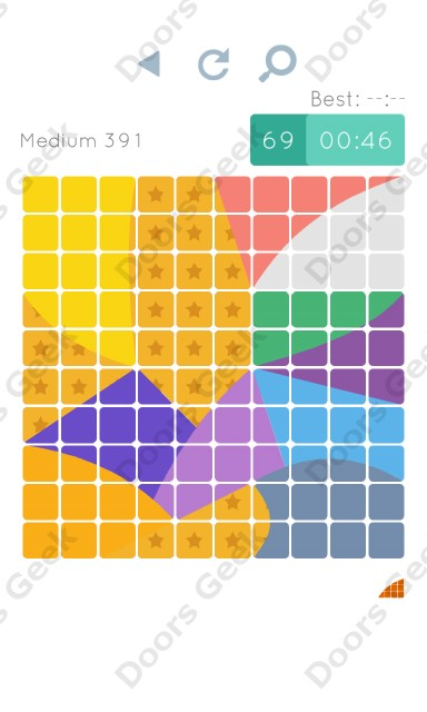 Cheats, Walkthrough for Blocks and Shapes Medium Level 391