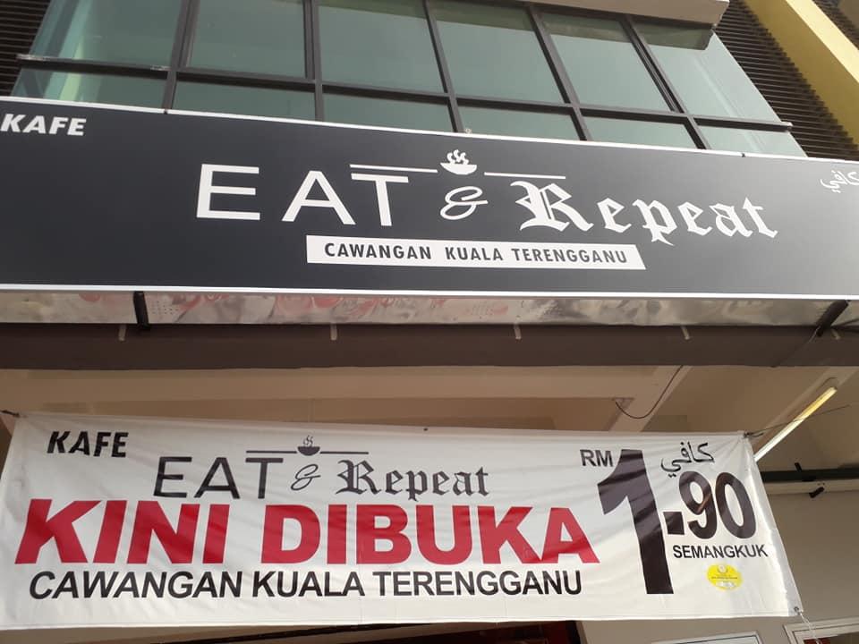 Murah yer makan di Eat and Repeat - RM1.90 sahaja!