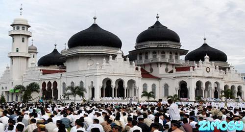 Gambar Sholat Sunnah Idul Fitri