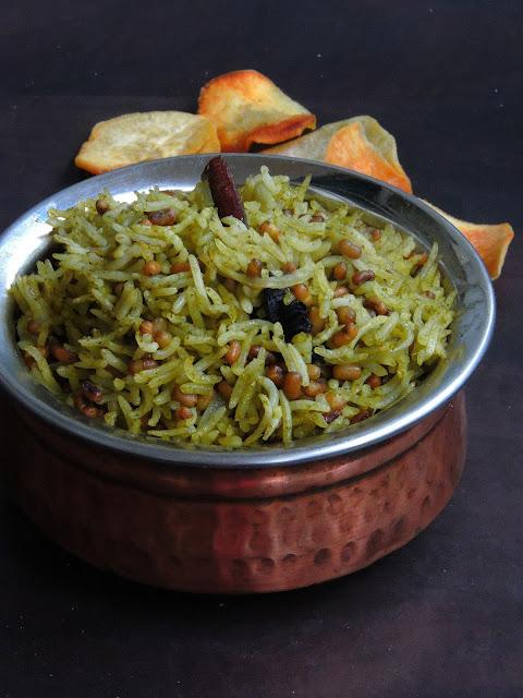 Pudina Matki Briyani, Mint leaves Matki Biriyani