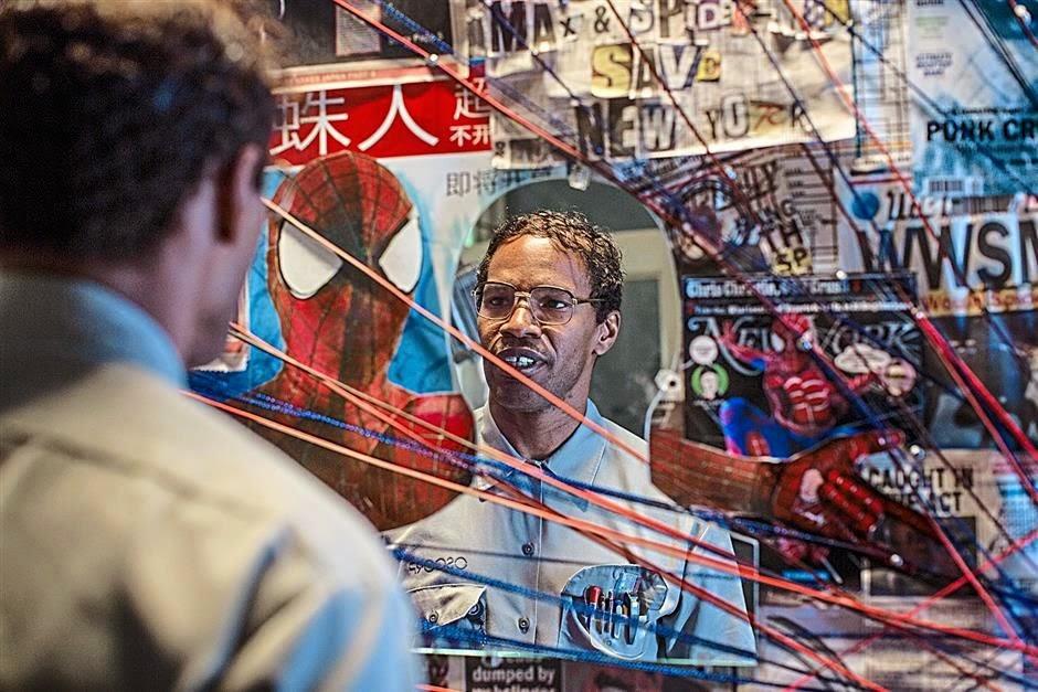 Jamie Foxx Electro Amazing Spider-Man 2
