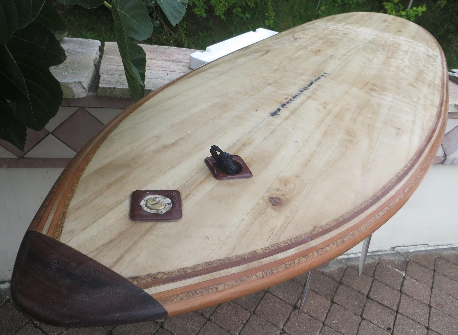 how to make alaia wood surfboard