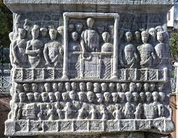 Features about Obelisk of  Theodosius