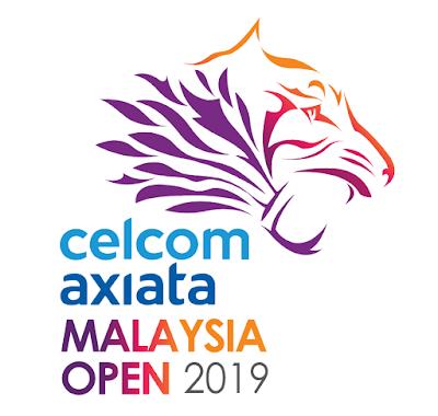 Jadwal Celcom Axiata Malaysia Open 2019