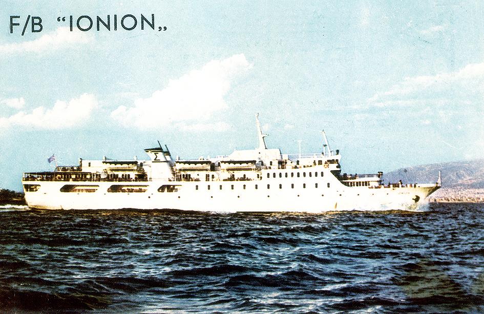 Αποτέλεσμα εικόνας για κύθνος καράβι ΙΟΝΙΟ