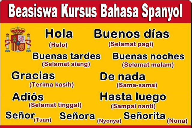 Kursus Bahasa Spanyol