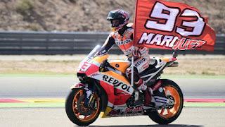 MOTO GP - Remontada y Márquez es más líder en Aragón