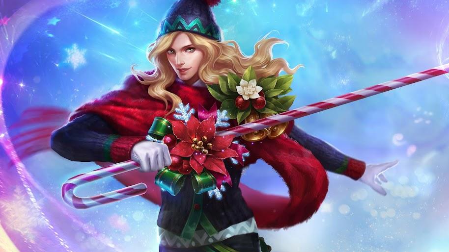 Christmas Carnival Lancelot.Lancelot Christmas Carnival Skin Mobile Legends 4k Wallpaper