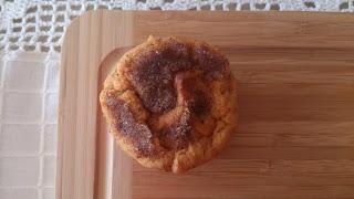 batata boniato camote asada otoño muffins canela magdalenas desayuno merienda postre horno sencillos ricos jugosos tiernos esponjosos cuca receta