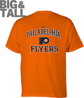 Big and Tall Philadelphia Flyers Team Pride T-Shirt