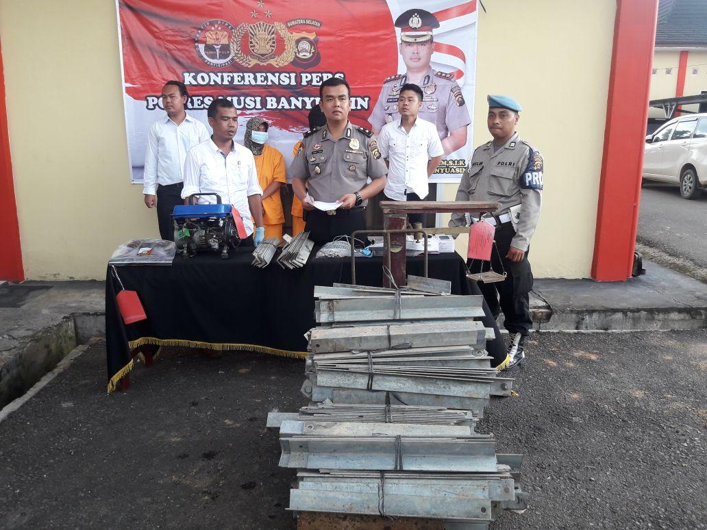 Polres Muba Ungkap 44 Kasus Kriminal Dan 29 Narkoba Krsumselcom