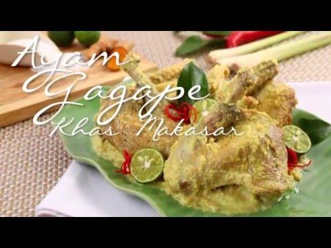 Ayam Gagape Khas Makassar