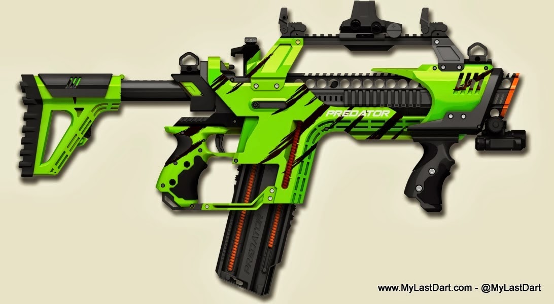JLCustomsCreations - The Best Nerf Gun Mods Ever | Man of Many  |Nerf Guns Awesome Looking