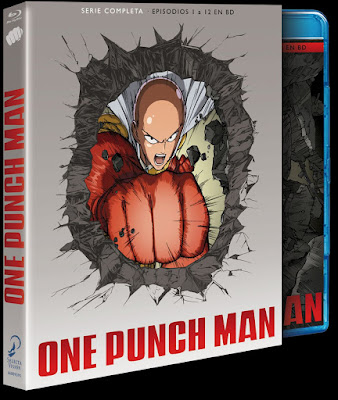 ONE PUNCH MAN. TEMPORADA 1 COMPLETA. Bluray