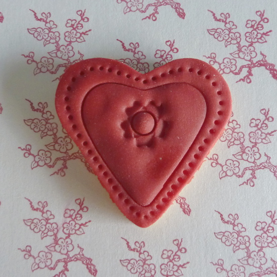Valentine's Day baking heart cookies recipe