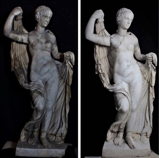 'Rediscovered Aphrodite' in Italy's National Archaeology Museum restored by Friends of Florence