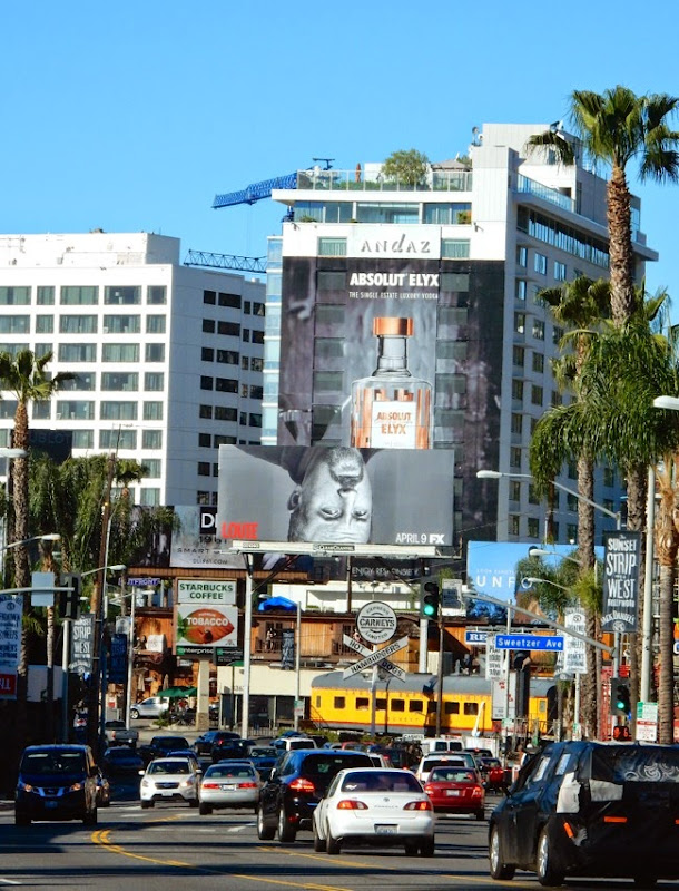 Louie season 5 billboard Sunset Strip