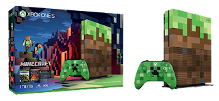 Xbox One S Minecraft Limited Edition 1TB Bundle