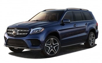 New 2016 Mercedes  GLS 400 4MATIC Blue SUV