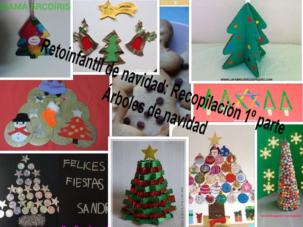 Manualidades con mis hijas 1 parte del retoinfantil - Manualidades navidad 2017 ...