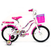 Sepeda Anak Wimcycle Barbie AF 16 Inci Lisensi