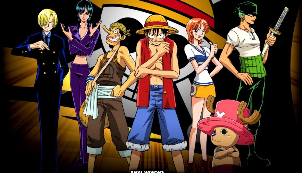 one piece anime image straw hat pirate crew