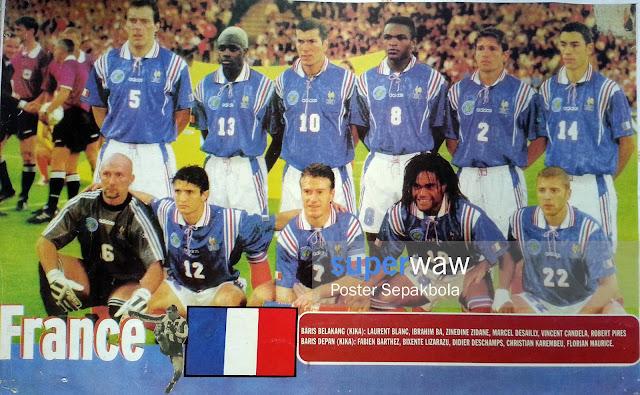 Poster Tim Prancis 1996