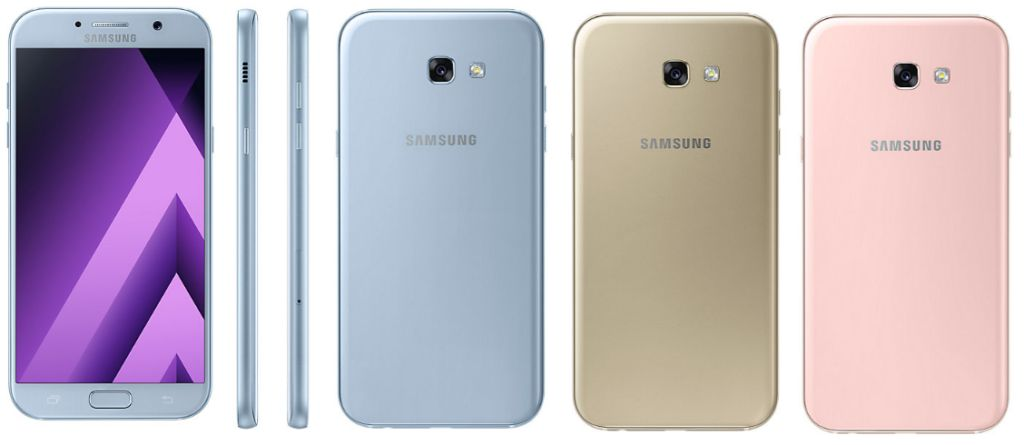 Samsung Galaxy A7 (2017) with Specifications