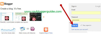 How To Start or Create a Blog On Blogger Platform