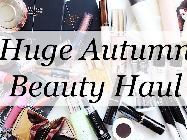 Huge Autumn Beauty Haul
