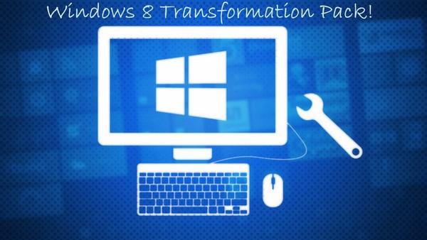 Download Windows 8 Transformation Pack [Freeware]