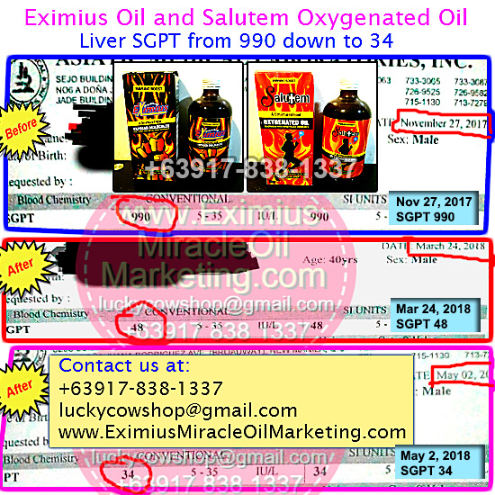 liver sgpt salutem oil eximius oil