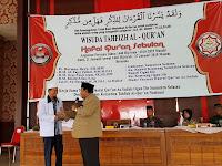 Staf Khusus Gubernur Sumsel Apresiasi Wisuda Hafidz  Yay. Darul Qur'an As-Sudais