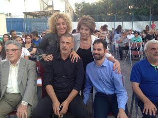 Ο Βαγγέλης Αυγουλάς με την κα Παπαστελιανού και τον Γιάννη Μώραλη με τη γυναίκα του