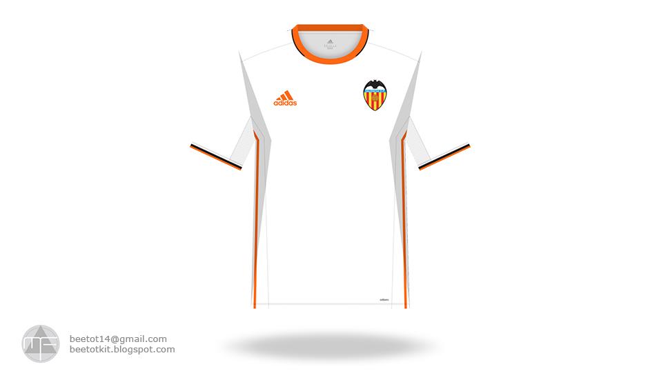 buy online 40549 66ead Beetot Kit: Valencia CF Kit 16/17