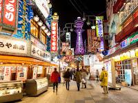 Tempat Wisata Tsutenkaku Tower Osaka Jepang