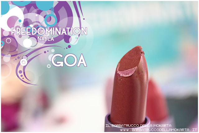 goa review  nabla cosmetics freedomination collection summer lipstick diva crime