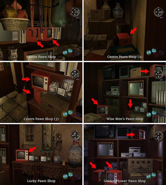 Red TVs in Wise Men's Quarter