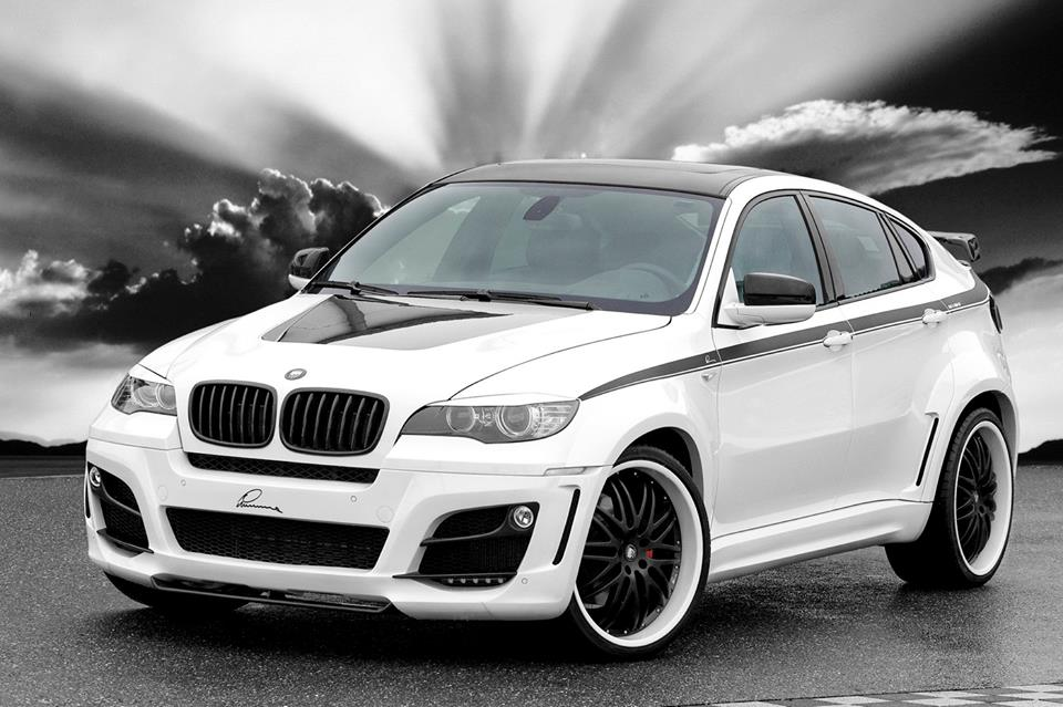 Modified Cars White Bmw X6 Modified