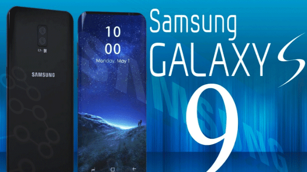 A formal disclosure submission Galaxy s 9