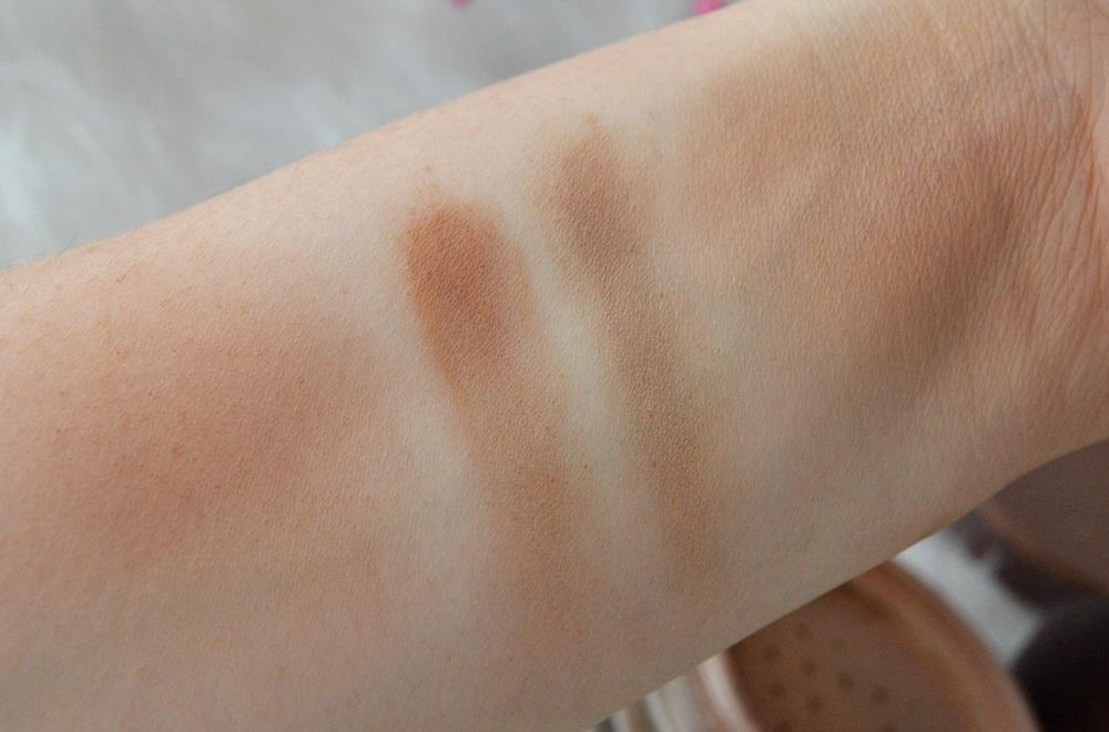 Pixie - bronzer mineralny vs Vita Liberata puder brązujący