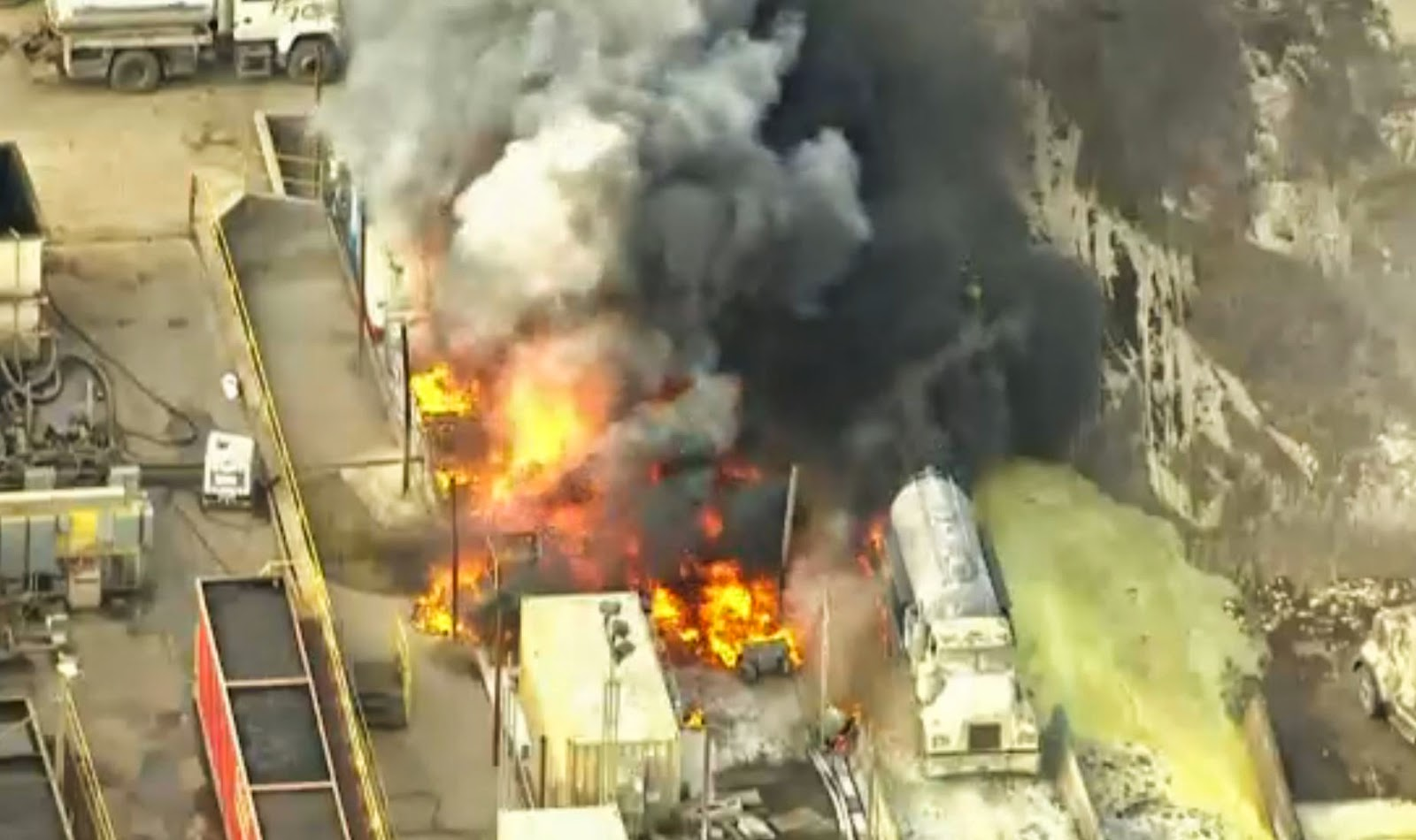 chemical explosion in california on november 18, 2014. dozens went to the  hospital