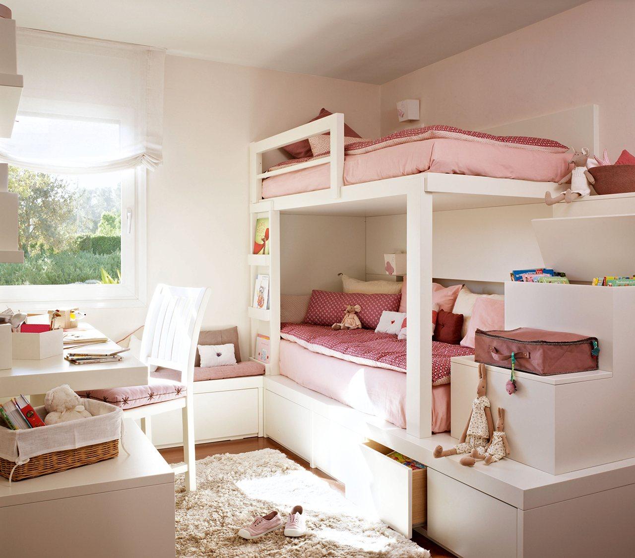 M veis planejados para quartos infantis mam e arquiteta for Dormitorio nina blanco