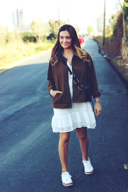 El Blog De Renée Como Combinar Un Vestido Blanco