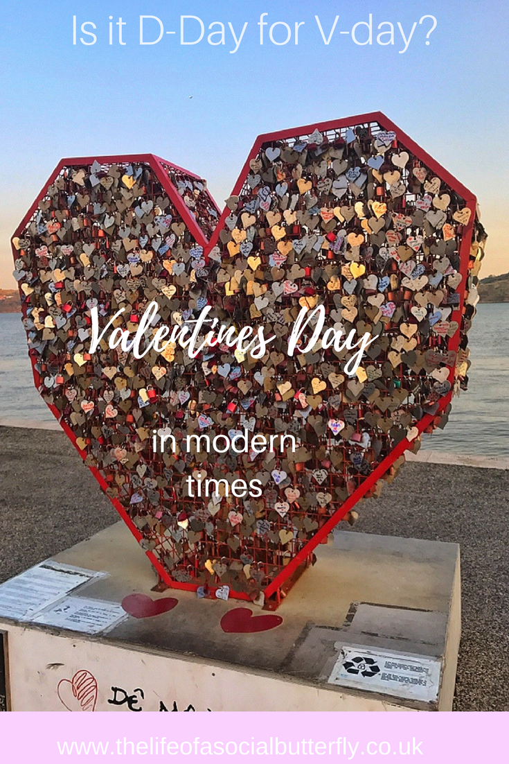 Is it D-Day for V-Day Valentine's Day in Modern Times Pinterest Pin