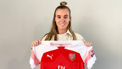 arsenal sign Jill roord