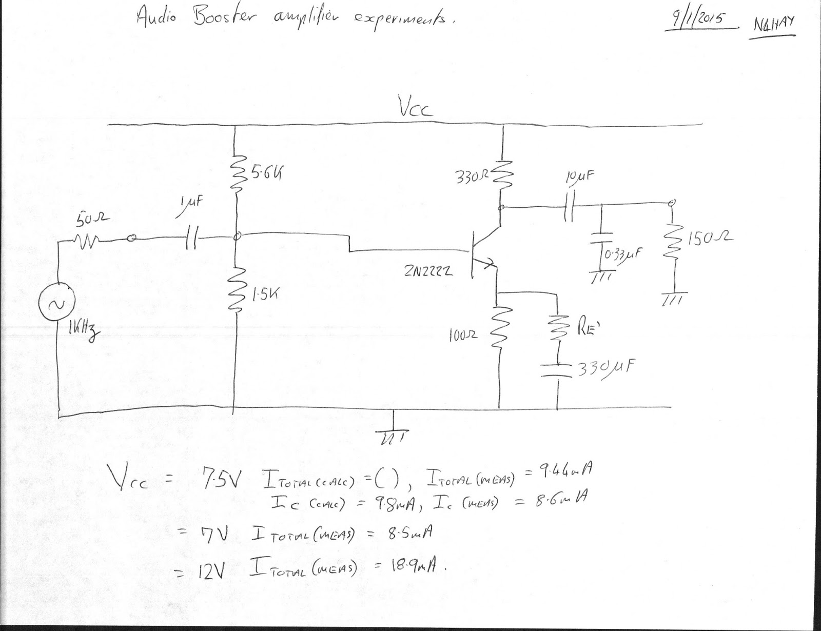 N4hay Zs6rsh David Clark Headphones Amplifier Design 2 Emitter Follower Circuit However At Least 10ma Would Be Needed To Drive The Is This A Zero Sum Game