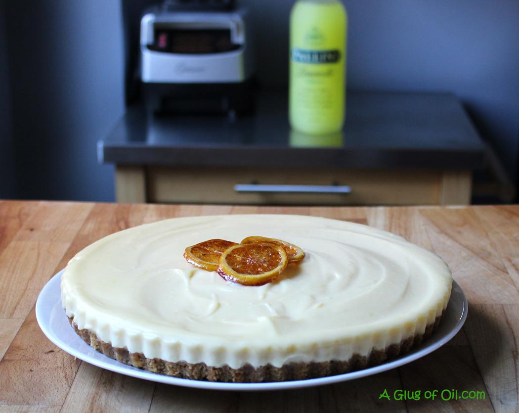lemoncello cheesecake